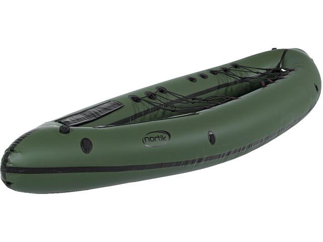 nortik Duo Expedition PackRaft Boat green/black